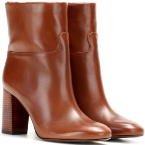 Tory Burch Devon Leather Ankle Boot
